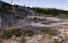 Artist Paint Pots - Yellowstone - USA