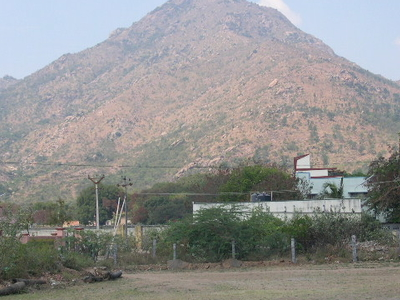 Arunachala Hill Near Ashram