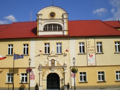 Żary - Town Hall And Old Market Square