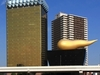 Asahi Breweries Headquarters In Sumida