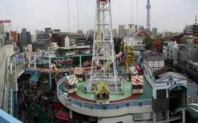 Asakusa Hanayashiki In Asakusa