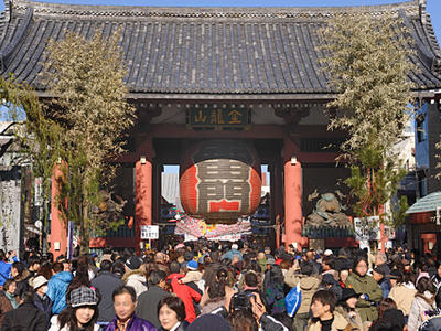Asakusa Kaminari Mon (Thunder Gate)