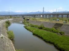 Asa River In Nagano Japan