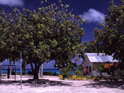 A School In Funafuti