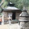 A Small Shrine At Khecheolpalri Lake