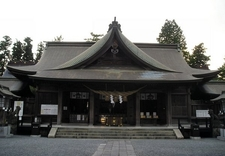Aso Shrine Main Hall