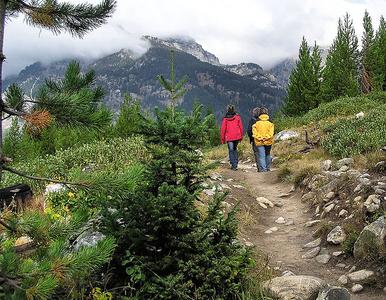 Aspen Ridge Loop - Grand Tetons - Wyoming - USA