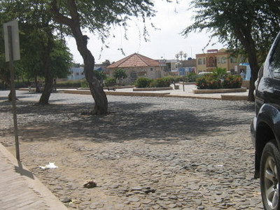 A Square In Sal Rei.