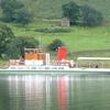 A Steamer On Ullswater