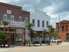 A Street In Apalachicola Showing The Dixie Theatre
