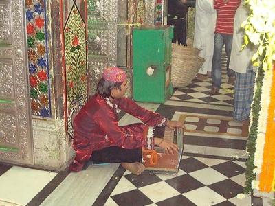 A Sufi Singer In The Shirine