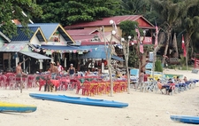At Coral Bay - Perhentian Islands