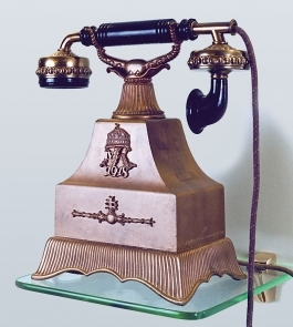 A Telephone On A Display-Museum Of Telephones