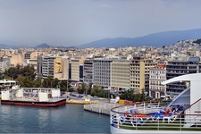 Athens Overview From Piraeus