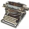 A Typewriter On Display