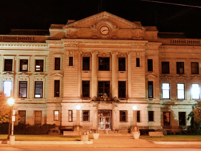 Auburn  Indiana  Courthouse  Night