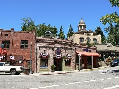 Auburn Old Town CA View
