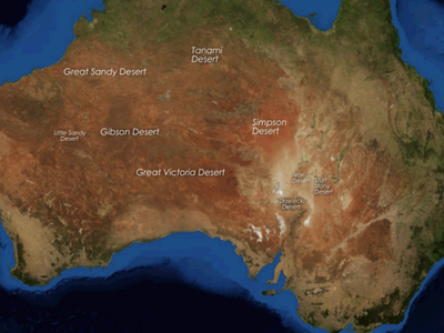 Australia Deserts