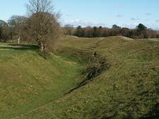 Avebury Stone Circle Ditch - Wiltshire - England