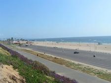 A View Of Dockweiler Beach
