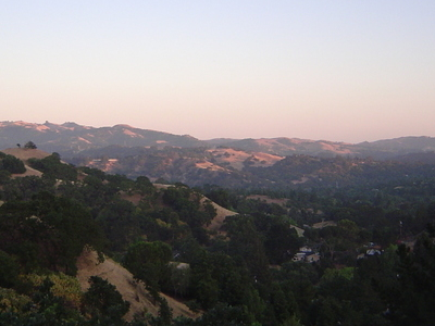 A View Of Lafayette California