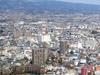 A View Of Maebashi With Mt. Akagi