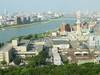 A View Of Niigata City And Shinano River