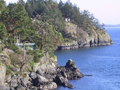 North Pender Islands Shoreline