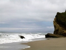A View Of Pescadero Beach