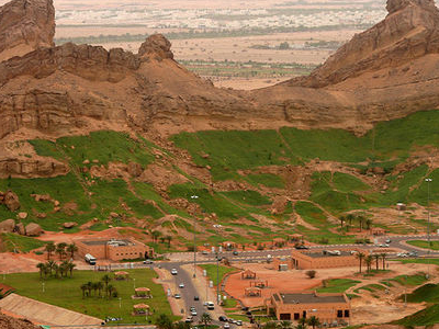 A View Over Green Mubazarrah