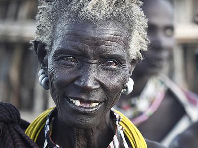 A Women In South Sudan