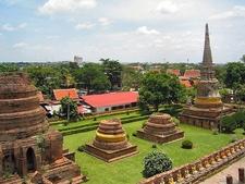 Ayutthaya View In Parts