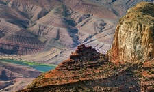 AZ Badlands At Desert View - Grand Canyon NP
