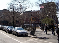 Abingdon Square Park From Street