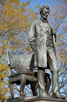 Abraham Lincoln Quotstanding Lincoln After Lincoln Park Conservancy Restorationquot