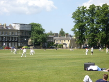 A Cricket Match On Parker 2 7s Piece Geograph .org .uk 1 3 3 3 3 1 5