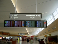 Main Concourse Terminal Of Adelaide Airport