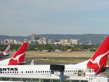 Adelaide Airport Skyline