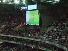 One Of The Large LCDs At Docklands Stadium