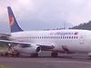 An Air Philippines Plane At Legazpi Airport
