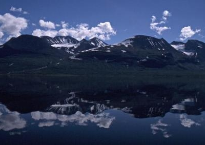 Áhkká Seen From The Lake