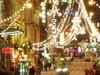 Christmas Lights On Aleksanterinkatu