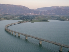 Lake Polyfytos Bridge