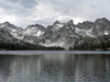 Alice Lake In The Sawtooth Wilderness
