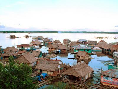 Amazonas Floating Village