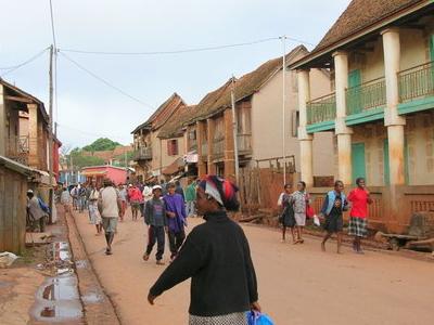 Ambalavao Main Street