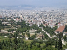 View Of The Ancient Agora