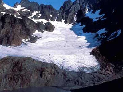 Mount Anderson Above Anderson Glacier