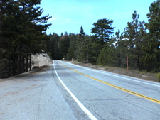 The Angeles Crest Highway In The Angeles National Forest
