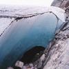 A Glacier Cave Under Mendenhall Glacier